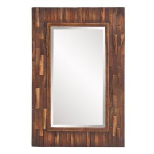 Howard Elliott Forrest Rectangular Decorative Mirror by Howard Elliott