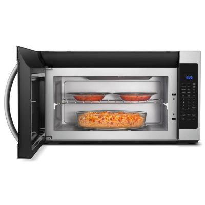 2.1 cu. ft. Over the Range Microwave in Fingerprint Resistant Stainless Steel with Steam Cooking