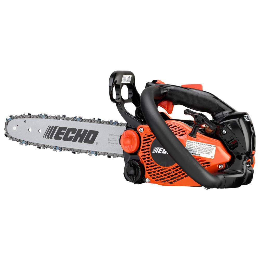 12 in. 25.0cc Gas 2-Stroke Cycle Chainsaw