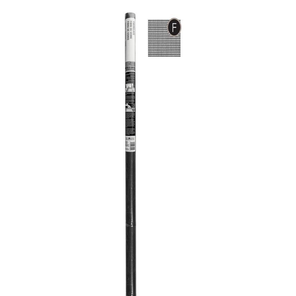 Saint gobain adfors 48 in x 84 in charcoal fiberglass for Salt air resistant door hardware