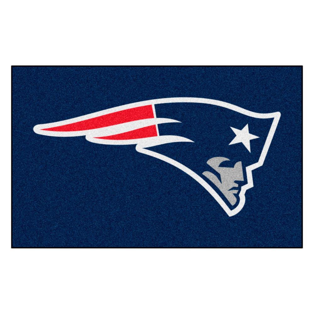 NFL 8 ft.x 5 ft. New England Patriots Rug