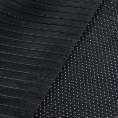 4 ft. x 6 ft. Black Rubber Utility Mat