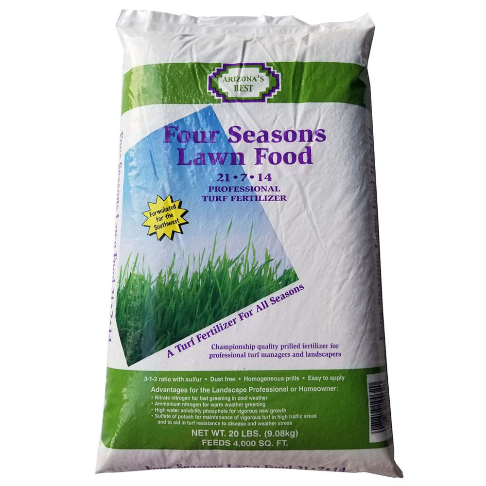 Arizona's Best Four Season's 20 lb. Lawn Feed Fertilizer