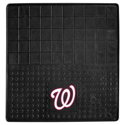 Washington Nationals Heavy Duty Vinyl 31 in. x 31 in. Cargo Mat