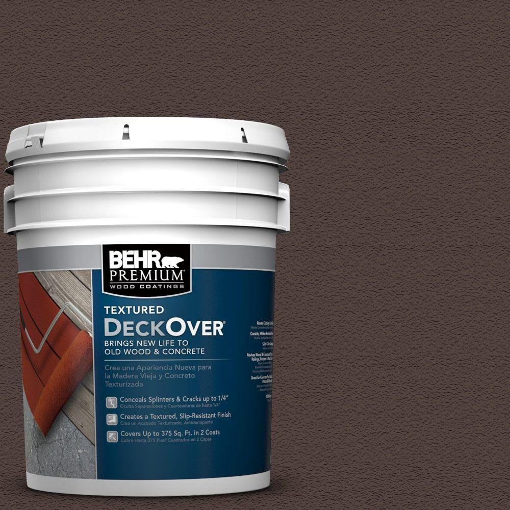 5 gal. #PFC-25 Dark Walnut Wood and Concrete Coating