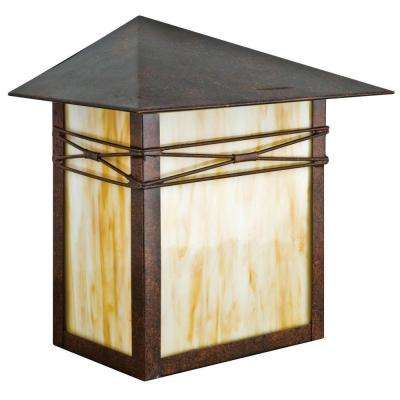 Linard 1-Light Oil Rubbed Bronze Outdoor Wall Lantern