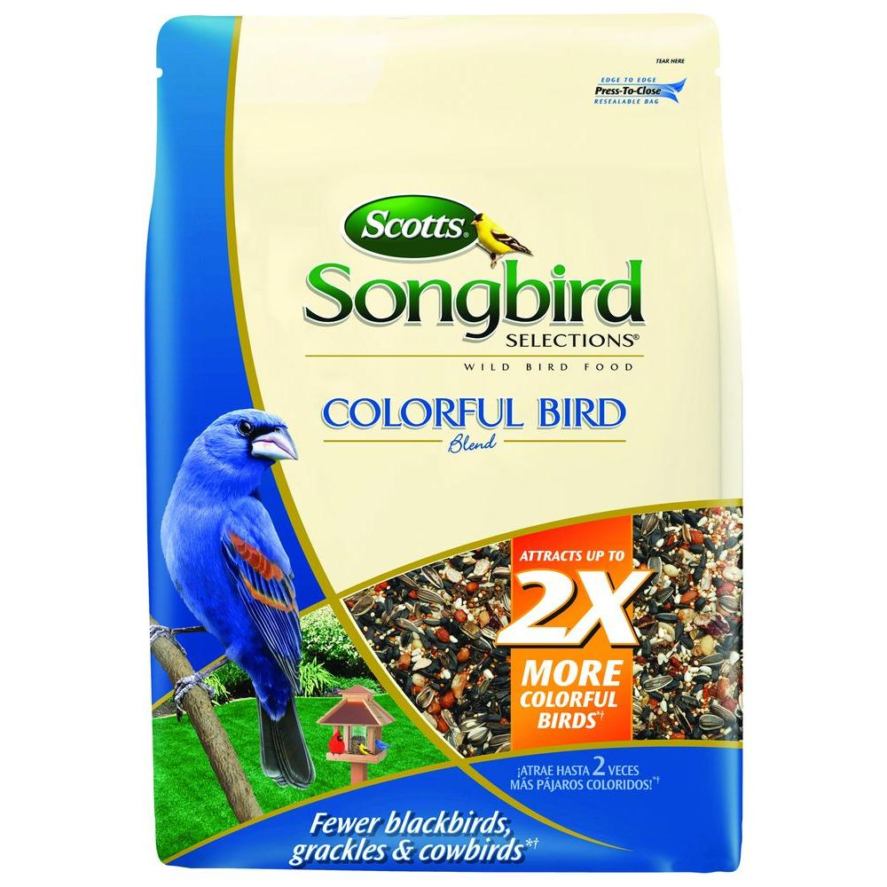 Scotts 8 lb. Colorful Bird Blend Seed