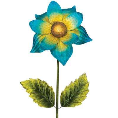65 in. Giant Flower Stake - Blue