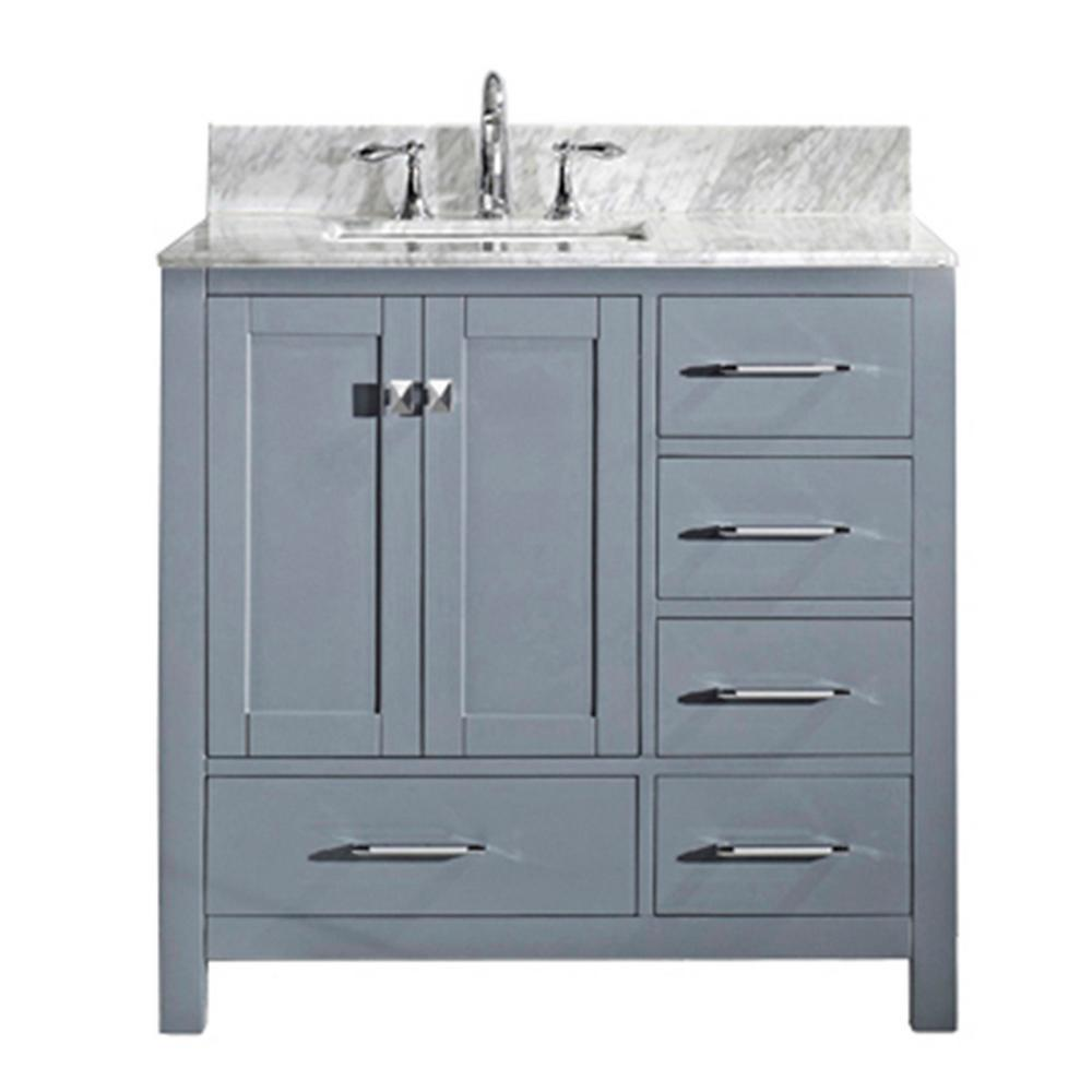 Caroline Avenue 36 in. W x 22 in. D Single Vanity
