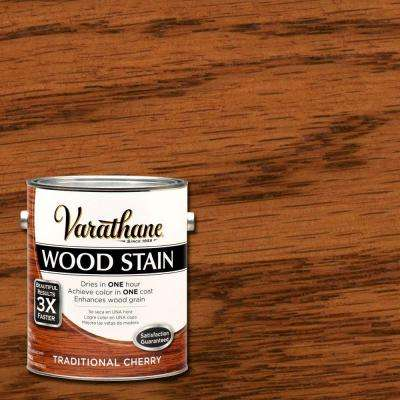 1 gal. Traditional Cherry Premium Wood Stain (Case of 2)