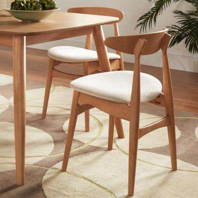 Judson Scandinavian Natural Dining Chair