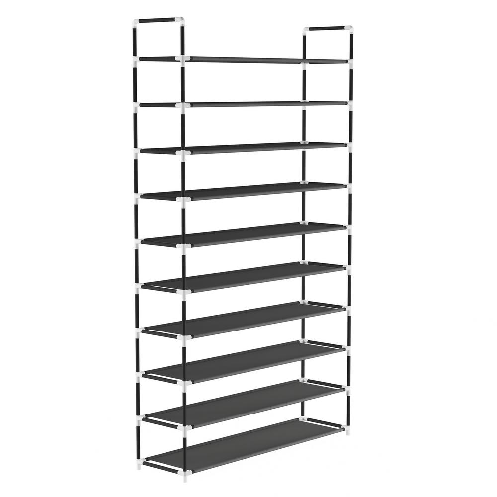 50-Pair 10-Tier Shoe Storage Rack