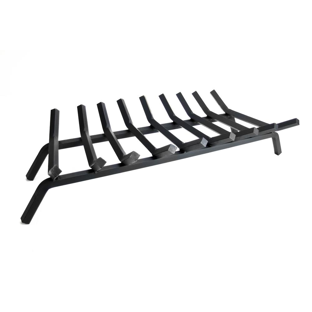 3/4 in. 36 in. 9-Bar Steel Fireplace Grate