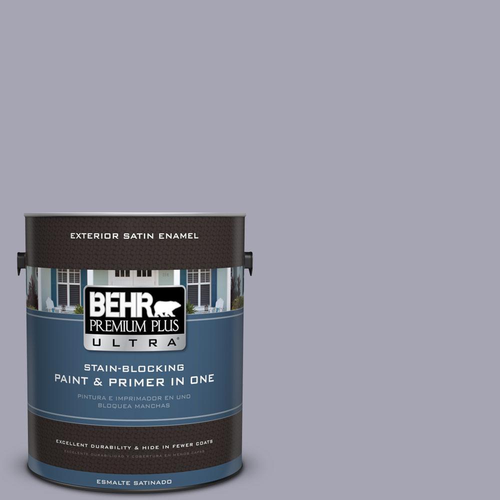 BEHR Premium Plus Ultra 1-gal. #T12-3 Canyon Sunset Satin Enamel Exterior Paint