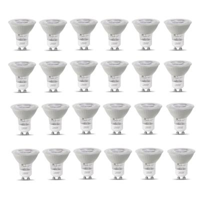50-Watt Equivalent MR16 GU10 Dimmable CEC Title 20 Compliant LED 90+ CRI Frosted Flood Light Bulb Bright White (24-Pack)