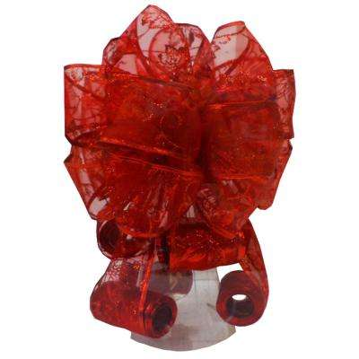 Red Tree Topper Bow