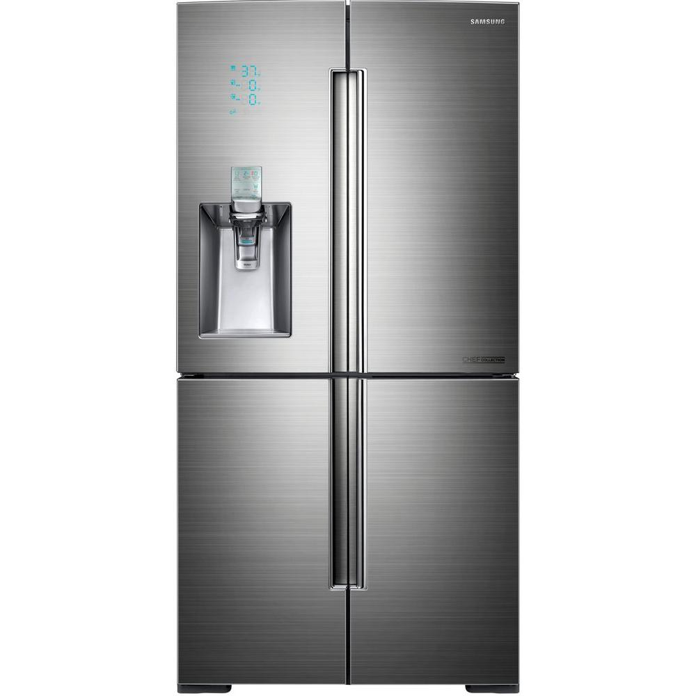 Samsung Chef Collection 34.3 cu. ft. French Door Refrigerator in Stainless Steel