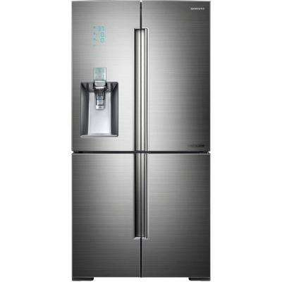 Chef Collection 34.3 cu. ft. French Door Refrigerator in Stainless Steel