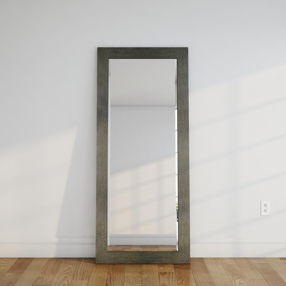 21 5 In X 71 In Silver Over The Door Full Length Framed
