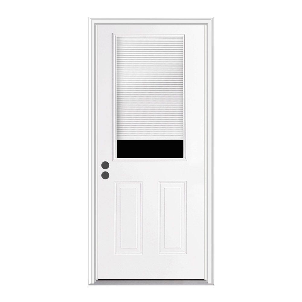 36 x 80 - Blinds Between the Glass - Doors With Glass - Steel ...