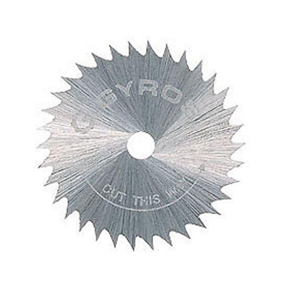 1 in. Diameter Coarse Teeth Saw Blade (10-Pack)