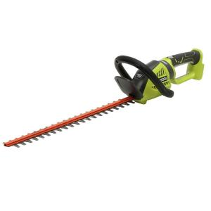 Ryobi 24 inch 24-Volt Lithium-Ion Cordless Hedge Trimmer - Battery and Charger... by Ryobi