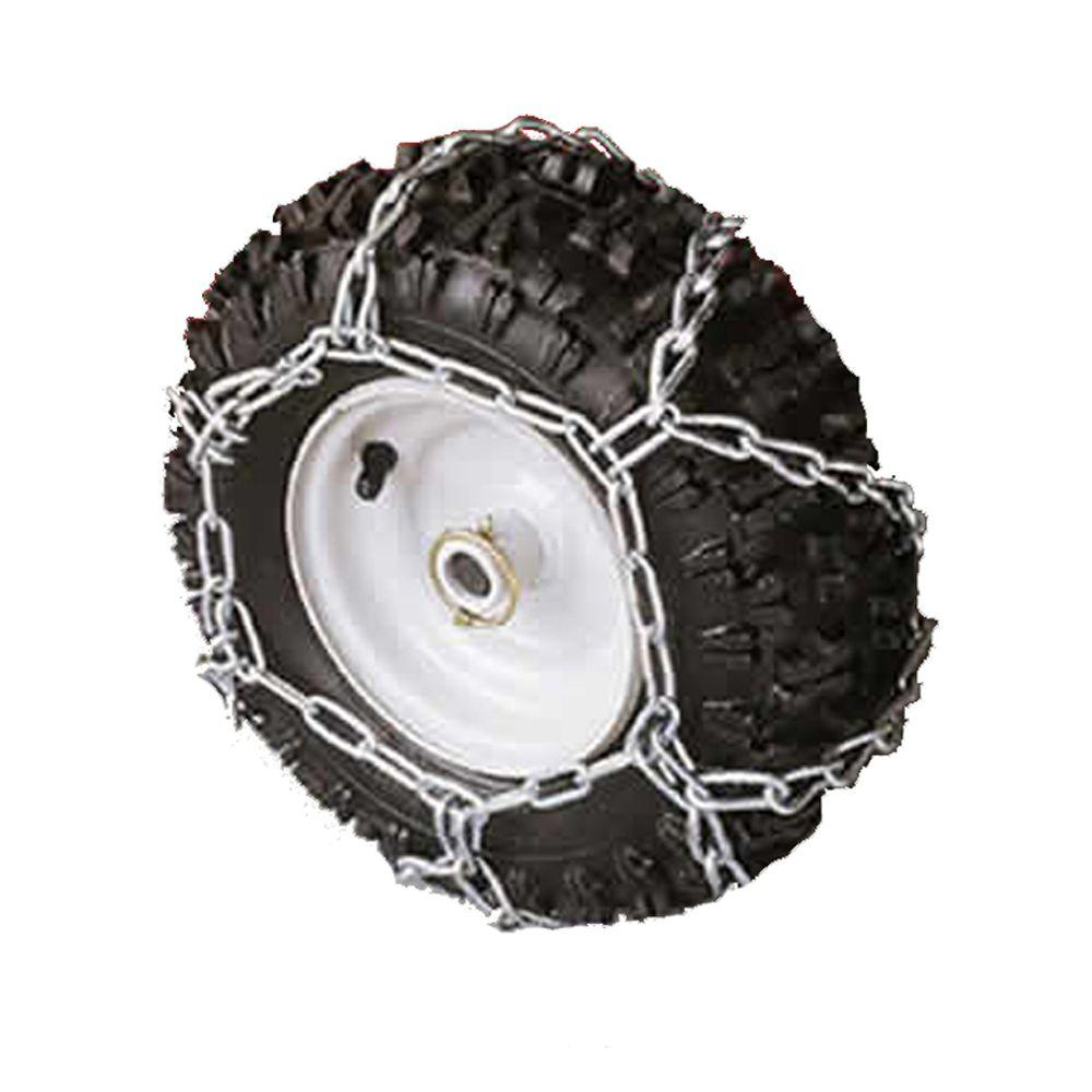 Arnold 16 in. x 4.8 in. Tire Chains for Snow Throwers