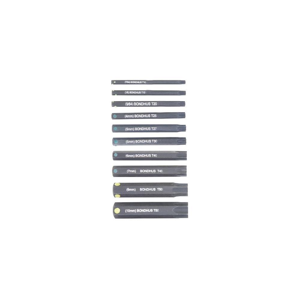 TORX Socket Bit Set with ProGuard (10-Piece)