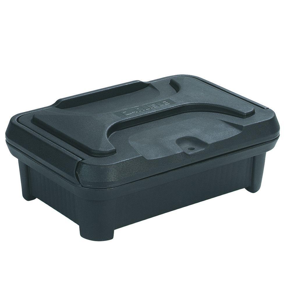 Cateraide Slide N Seal Top Load Pan Carrier for 4 in. Deep Pans in Black