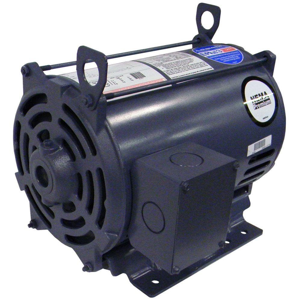 null 10 RHP 3-Phase Electric Air Compressor Motor-DISCONTINUED