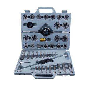 Steel Core Tungsten Steel Metric Tap and Die Set (45-Piece) by Steel Core