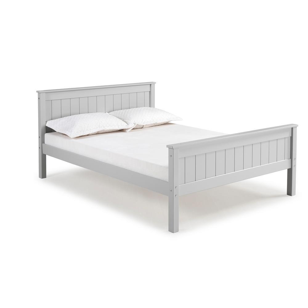 Harmony Dove Gray Full Bed