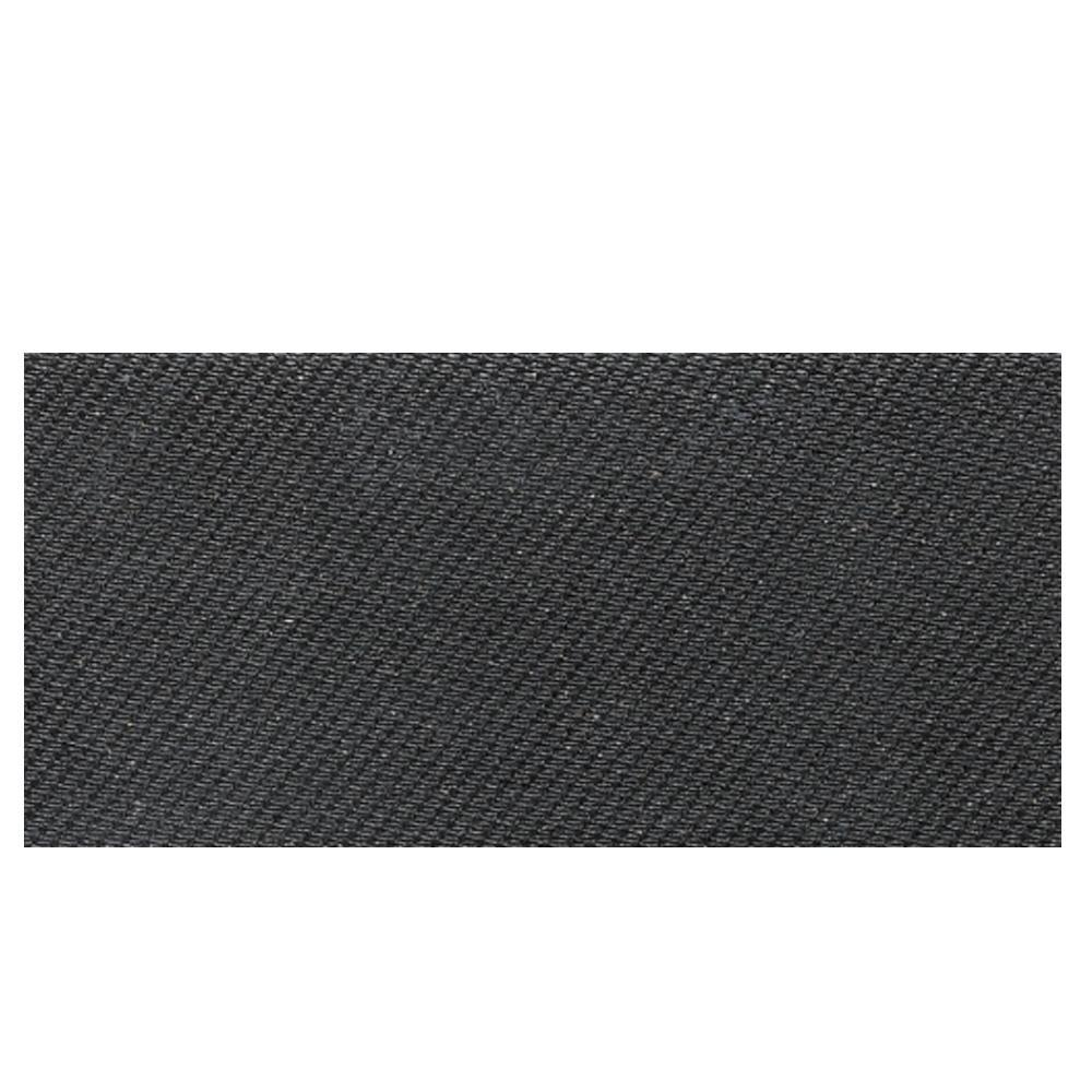 Daltile Identity Twilight Black Fabric 6 in. x 12 in. Porcelain Cove Base Floor and Wall Tile