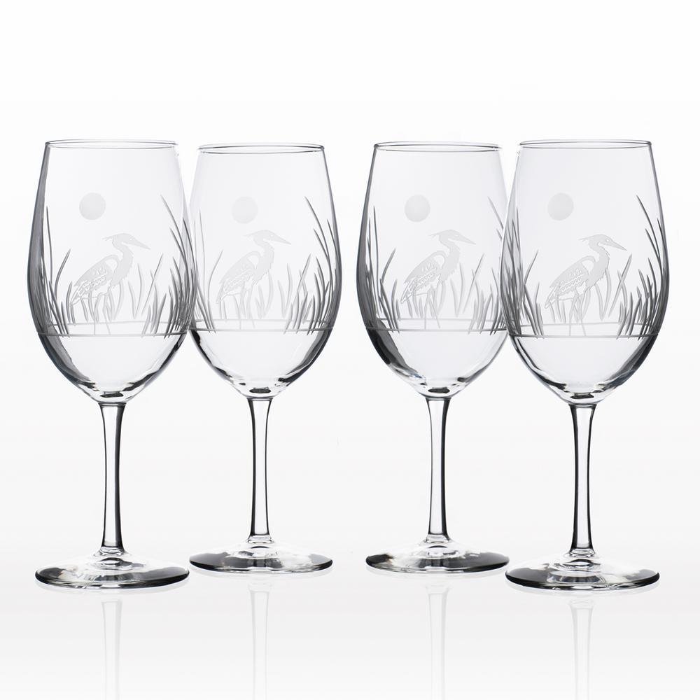 Heron 18 oz. All-Purpose Wine Glass (Set of 4)