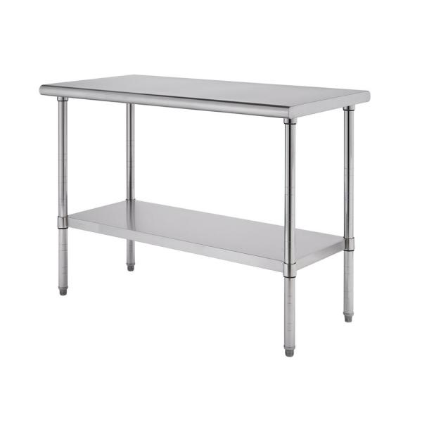PRO EcoStorage 48 in. x 24 in. Stainless Steel NSF Kitchen Utility Table
