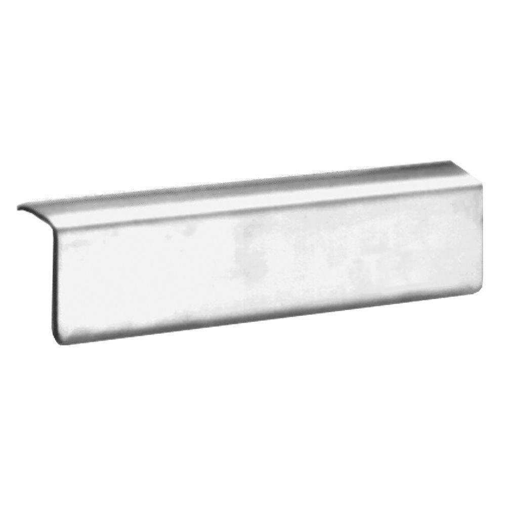 14.8 in. Wall Mount Rim Guard Service Sink, Stainless Steel