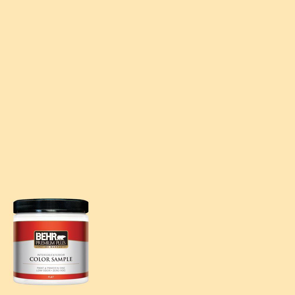 8 oz. #P260-3 Vanilla Ice Cream Interior/Exterior Paint Sample