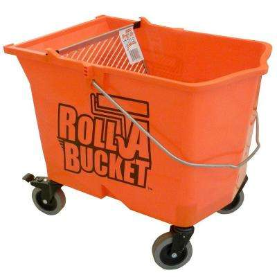Roll a Bucket 6-gal. HDPE Wheeled Paint Bucket