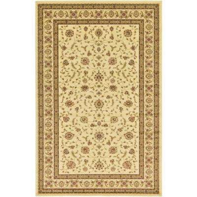 Agra Cream 10 ft. 6 in. x 16 ft. 5 in. Area Rug