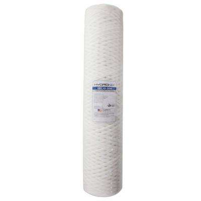 20 in. x 4-1/2 in. String Wound Sediment Water Filter