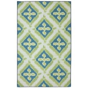 Summer Splash 5 ft. x 8 ft. Outdoor Printed Patio Indoor/Outdoor Area Rug
