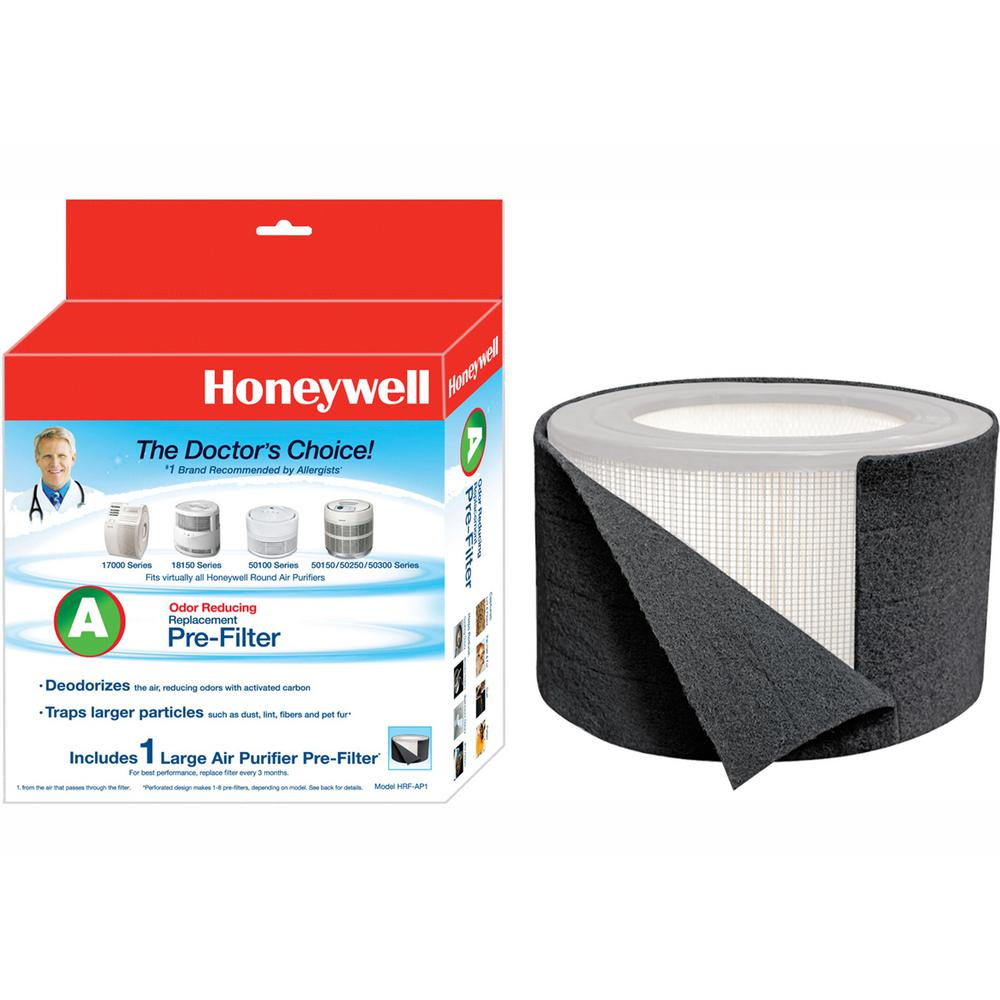 Honeywell Premium Odor and Gas Reducing Type A+ Pre-Filter