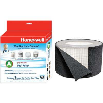 Premium Odor and Gas Reducing Type A+ Pre-Filter