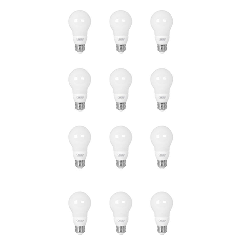 10-Watt Equivalent A19 Medium E26 Base Color Changing PARTYBULB LED Light Bulb (12-Pack)