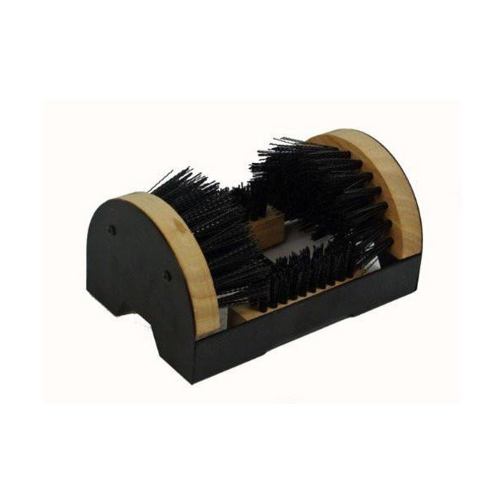 TruePower Floor Mount Boot Scrubber Brush with Scrapper