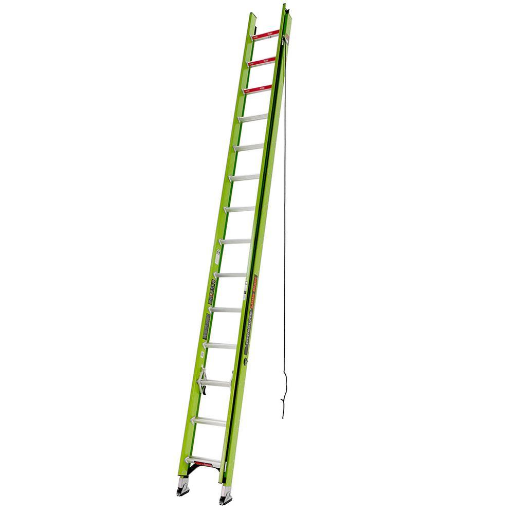 HyperLite 28 ft. Type IA Fiberglass Extension Ladder