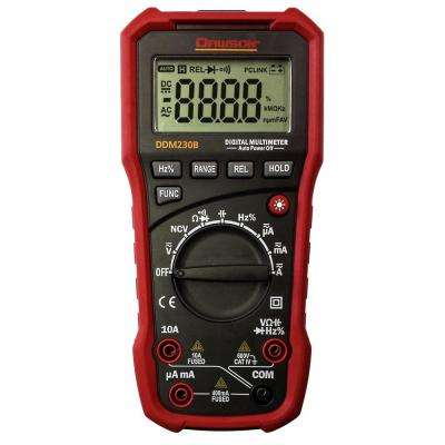 Digital Multimeter with USB Interface