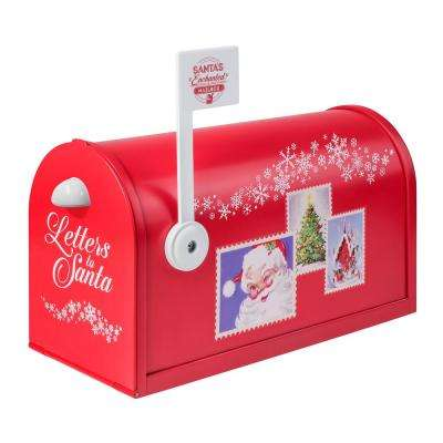 13 in. L Santa's Enchanted Mailbox