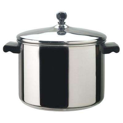 Classic Series 8.0 Qt. Aluminum Stock Pot with Lid