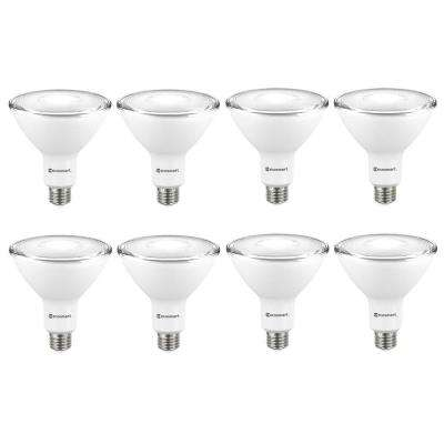 120-Watt Equivalent PAR38 Dimmable ENERGY STAR Flood LED Light Bulb Daylight (8-Pack)